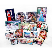 Rock Photo Frame Sublimação Heat Transfer Photo Slate