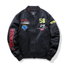 Jaqueta de bombardeiro personalizado de OEM personalizado por atacado