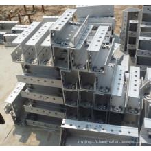 Coffrage en aluminium pour la construction de bâtiments