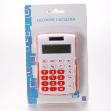 Red & White Calculators