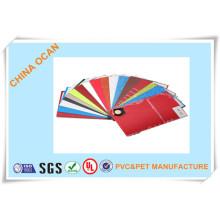 PVC-farbige Platte für dekorative Platte
