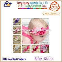 Alibaba Китай производитель более дешевый цена baby цветок headbands