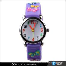 Выпуклая поверхность часы японский movt. Часы кварцевого малыша