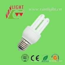 U forma série CFL luz lâmpada (VLC-MP3U-E27-11W) de poupança