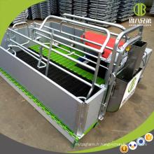 La cage de mise à niveau galvanisée adaptée aux besoins du client de porc de plume de vache de truie à vendre
