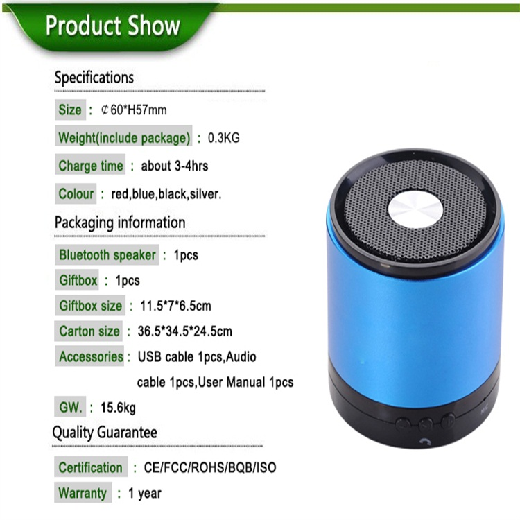 Mobile Bluetooth Speaker
