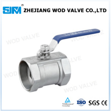 Ss 304 1000 Wog 1PC Ball Valve