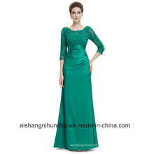 Mulheres Lace Bainha Evening Party Prom Dress