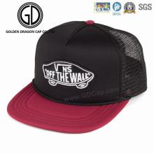 Klassischer Schaum Snapback Baseball Hip-Hop-Caps mit gesticktem Logo Mesh zurück