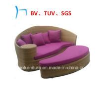 Напольная мебель сада wicker отдыха шезлонг (FL015)
