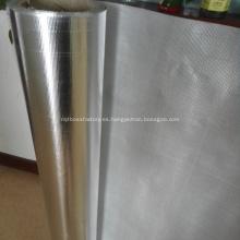 Papel de aluminio revestido de fibra de vidrio