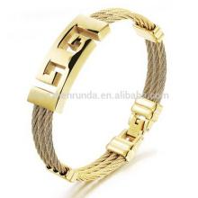 Bracelet plaqué or à chaud