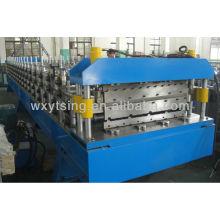 Gewölbte und IBR doppelte Blechfarbe Stahl Rollenformmaschine
