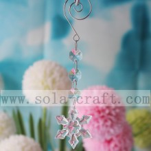 Wonderful Transparent Snowflower Shape Chandelier Lamp Pendant
