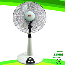 16 pulgadas DC12V Soporte de mesa ventilador Ventilador ventilador de escritorio solar (FT-40DC-B)