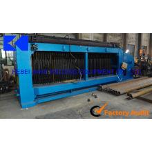 120 * 150mm 2 * 1 * 0,5 m gabion masche maschine / gabion box produktionslinie