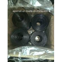 Le petit carton de Rolls a emballé le fil recuit noir doux de 1.6mm