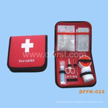 Travel First Aid Kit for Emergency Treatment (DFFK-024)