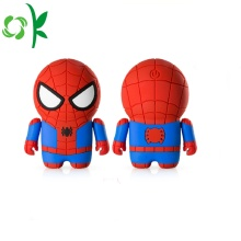 Capa de silicone popular Spider-man Real Powerbank