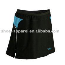 Suor atlético wicking saias de tênis oeko-tex 100 e 200