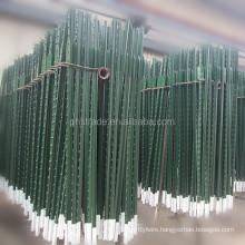 American type green painted 6FT metal T post
