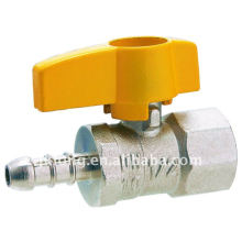 J2006 With butterfly handle Brass Gas Valve