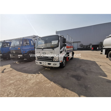 FAW 4x2 new white fuel oil tank truck
