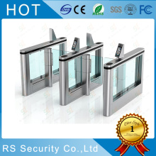 Museum Fingerprint Glass Turnstile Card Collector