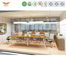 Hot Sale Wooden Top Office Square Meeting Conference Table (CLEVER-MT28)
