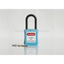 Insulated safety padlock