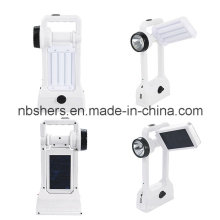 Handheld Solar 24 LED Lanterna, 1W LED Tocha, USB