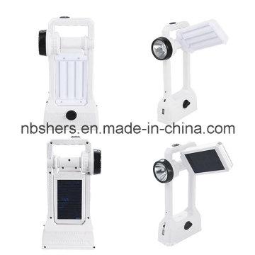 Handheld солнечный свет 24 СИД, факел СИД 1W, USB