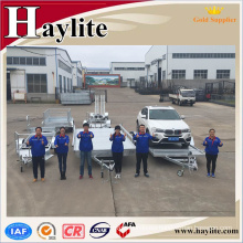 customer galvanized tipping car trailer for sale