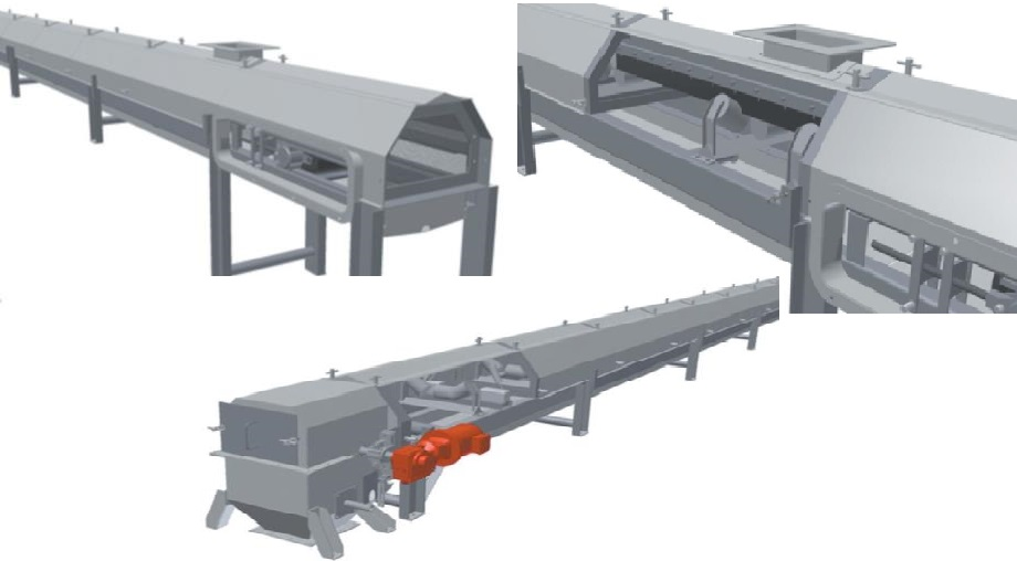 Modular Belt Conveyor Typical Design