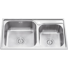 L5605 S. S Stretching Double Bowl Sink