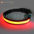 Usb Rechargeable Light-Up Luminescence Safety Dog Collars