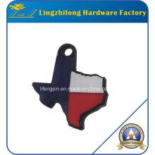 Texas Logo Design Charm en métal