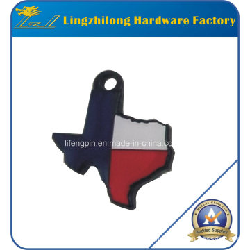 Texas Logo Design Metal Charm