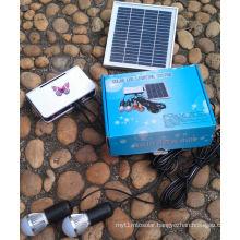 Solar LED Lighting Kits System with LED 1W 2W 3W Fixed Optional