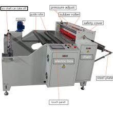 Máquina de corte automática de rolo de PVC de velocidade rápida