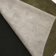 Tejidos de gamuza lisos para el abrigo / la chaqueta