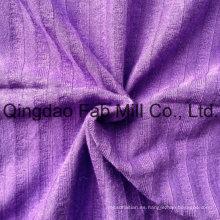 Jacquard rayón spandex para prendas de vestir (qf13-0682)