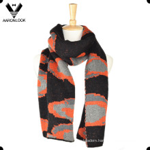 2016 Winter Intarsia Jacquard Knit Pattern Custom Design Scarf