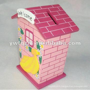 boîte d'économie d'électricité chinoise en bois pour la décoration ou les cadeaux