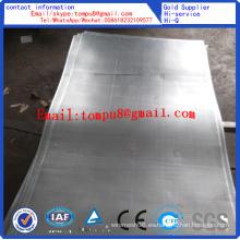 Hoja de metal perforada / placa de acero inoxidable