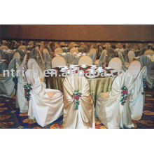 Satin bag/universal chair cover,Satin hotel self-tie chair cover
