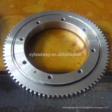 anillo de giro del engranaje exterior Tipo de luz Cojinete giratorio