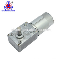 super low noise 12v 1rpm gear motor for robot