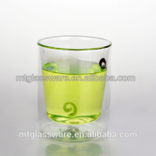 High quality clear heat resistant glass paint glass coffee cup