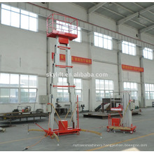 High quality!! aluminium alloy hydraulic construction elevator